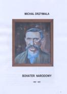 Michał Drzymała - bohater narodowy, okładka