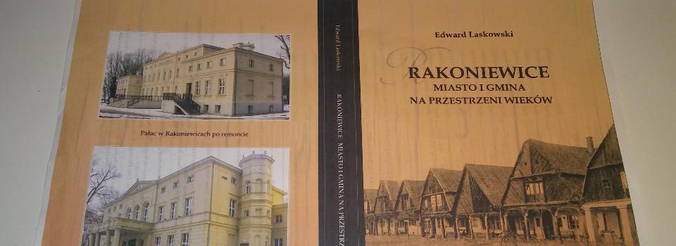 Okładka książki pt. Rakoniewice miasto i gmina na przestrzeni wieków